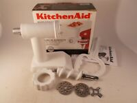 Kitchen Aid Food Grinder Stand Mixer Attachment White FGA Stand Mixer Attachment