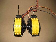 ~ Roomba Dirt Dog Vacuum Wheels + Motor Yellow Pair