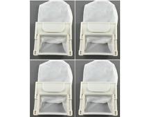 4 x LG Fuzzy Logic Washing Machine Lint Filter Bag 65mm X 72mm SF-60PX WF-402