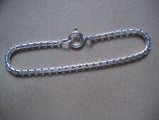 Verlängerungskette Sterlingsilber 6 cm x 2 mm rund,Kettenverlängerung Silber 6cm