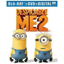 Despicable Me 2 (Blu-ray + DVD + Digital HD UltraViolet) by Steve Carell, Krist
