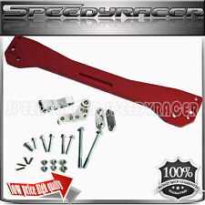 Rear Lower Tie Bar Sub frame Brace RED fit 1996-2000 Honda Civic EK EJ EM1