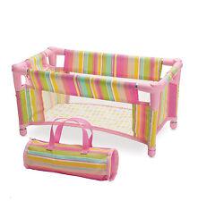 Baby Stella Take Along Travel Cot by Manhattan Toy