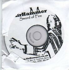 (AO883) AirHammer, Sword of Fire - DJ CD