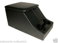 Land Rover Serie-Caja de almacenamiento de información Centro Cubby Negro XS Style & Sostenedor de taza-DA2035