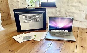 "Boxed Apple PowerBook G4 17"" 1Ghz 2GB RAM 56GB HDD Model 5,1 2003 - Rare"