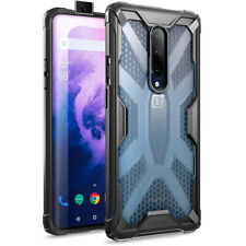 OnePlus 7 Pro Rugged Lightweight Case, Poetic Clear Bumper Protective Cover