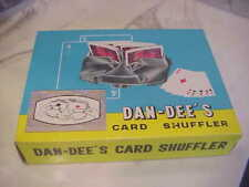 Vintage Dan-Dee's 3 Deck Card Shuffler in Box
