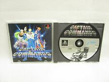 CAPTAIN COMMANDO Good Condition PS1 Playstation Free Shipping Japan Game p1