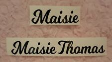 Personalised Name Sticker Label Decal for Toddler Kids Tricycle Smart Trike Toy