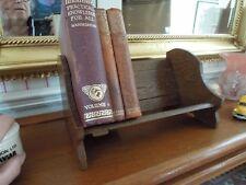 Ausziehbarer kleiner Bücherständer CD Ständer Eiche  massiv England ca. 1920