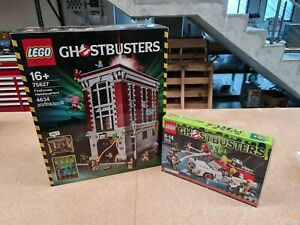 Lego 75827 and 75828 Ghostbusters FireHouse and Ecto 1 & 2 (Brand New In Box)