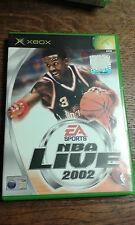 * Original Xbox Spiel * Nba Live 2002 * X Box