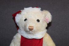 BOXED Steiff Teddy Bear MRS. SANTA CLAUS