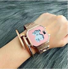 New Hot Design Fashion Luxury Women Wristwatch Ladies Electronic Bear Watch