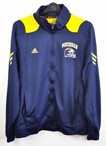 MICHIGAN WOLVERINES Adidas Scorch Jumper XL Tracksuit Top Jacket Training NCAA
