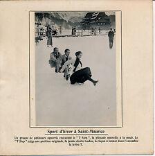 SAINT MAURICE c. 1910 - Patinoire Sport d'Hiver Alpes - 120