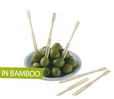 FORCHETTINE APERITIVO PARTY FINGER FOOD BAMBOO 500 PZ