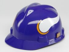 NFL HARD HAT ~ MINNESOTA VIKINGS ~Medium MSA Safety Works (ANSI/OSHA) Helmet~NEW