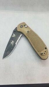 BENCHMADE #551  POCKET KNIFE    MEL PARDUE DESIGN  154CM