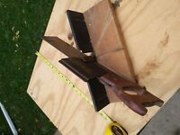 Vintage Miller Falls Miter Box, No. 816, Made in USA, with Hand Saw