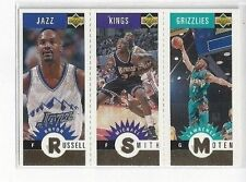 1996-97 COLLECTOR'S CHOICE MINI-CARDS GOLD MOTEN SMITH RUSSELL #M176 M162 M173