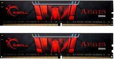 MEMORIA RAM G.SKILL AEGIS KIT16GB 2X8GB DDR4 3000MHz CL16 F4-3000C16D-16GISB