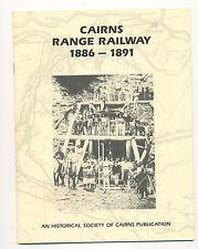 Cairn Range Railway Eisenbahn 1886 - 1891 Broughton historical society