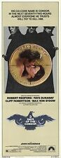 THREE DAYS OF THE CONDOR Movie POSTER 14x36 Insert Robert Redford Faye Dunaway