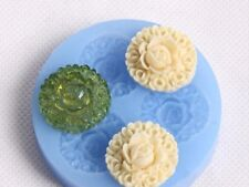 Silicone Cake Mold Decorating Lace Impression Mat Baking Tool **Flowers**