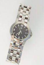 ESQ By Movado E5315 Women's Watch Silver Tone Steel Black Analog Dial