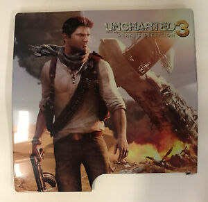 uncharted 3 playstation 3 (HARD COVER SNAP-ON) ( NEW) for slim ps3 console only