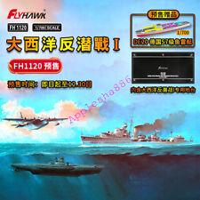 Flyhawk FH1120 1/700 scale Battle of the Atlantic:Anti-Submarine Warfare Set I