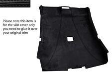 Negro Stitch Techo encabezando Alcantara Skin Cover Para Bmw Serie 3 E46 Coupe