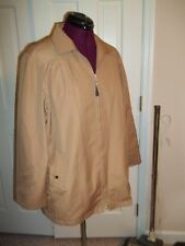 LONDON FOG LADIES SIZE 13/14 PANT COAT JACKET SHORT COAT NO LINING