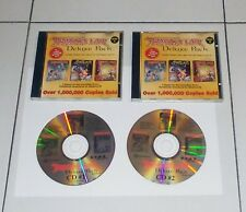 Gioco Pc Cd DRAGON'S LAIR DELUXE PACK I e II Space Ace 2 Cd Rom 1997
