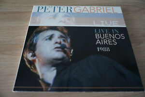 Peter Gabriel - Live in Buenos Aires - 1988 - Digipack  - unofficial - TBE