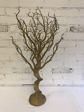 80cm GOLD  ARTIFICIAL MANZANITA WEDDING WISH TREE  (USED)