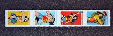 2016USA #5149-5152 Forever - Wonder Woman - Strip of 4  Mint  comic  postage