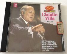 CLAUDIO VILLA BINARIO CD OTTIMO RACCOLTA SUCCESSI SPED GRATIS SU + ACQUISTI!!