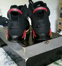 Nike Air Jordan 6 Infrared 2000 SOLESWAPPED WEARABLE or for collection purposes