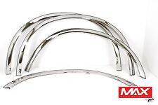 FTFD212 2008-2010 Ford F-250 F-350 SD Super Duty Stainless Steel Fender Trim