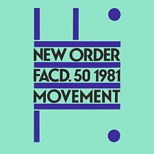 New Order MOVEMENT Debut Album 180g NEW SEALED VINYL RECORD LP