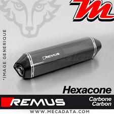 Silencieux Pot d'échappement Remus Hexacone carbone Triumph Trophy SE 2014