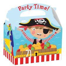 Little Pirate Party Boxes Childrens Buccaneer Birthday Favour Bags