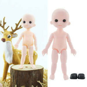 16cm Ball Jointed Blank Figure Doll Body Parts Making Practice Accessory