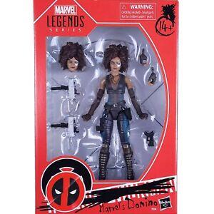 "Marvel Legends Movie Series Deadpool DOMINO 6"" Action Figure Hasbro"