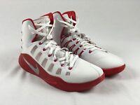 NEW Nike Hyperdunk 2016 - White/Red Basketball Shoes (Men's 15)