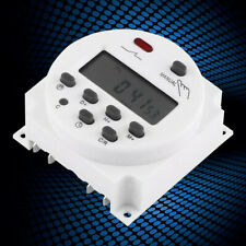 LCD Digital Weekly Programmable Power Timer Time Relay Switch CN101A