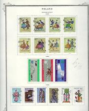 Poland.#1685-95 & 1705-10.Cto.1969.17 Diff Commemoratives